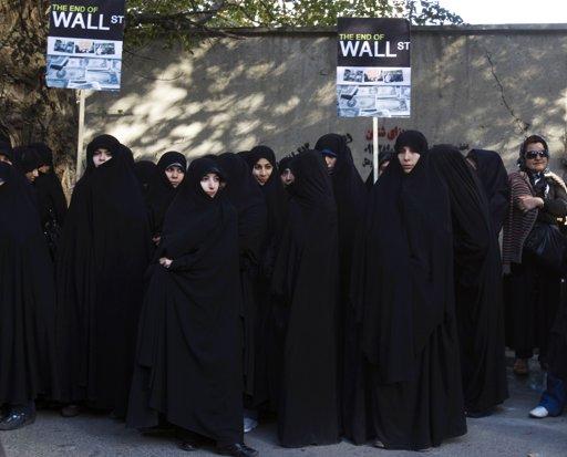 Tehran wall st