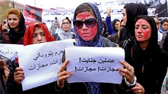 Afghan demo