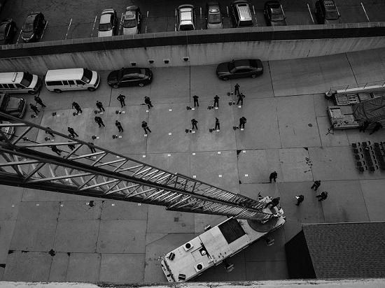 Firefighter-recruits-drill
