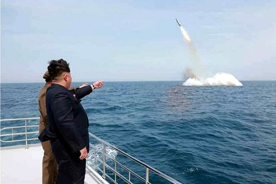 Kim-missile-launch