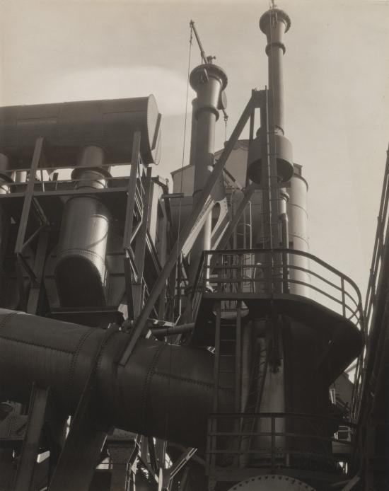Sheeler-Bleeder Stacks  Ford Plant Detroit 1927