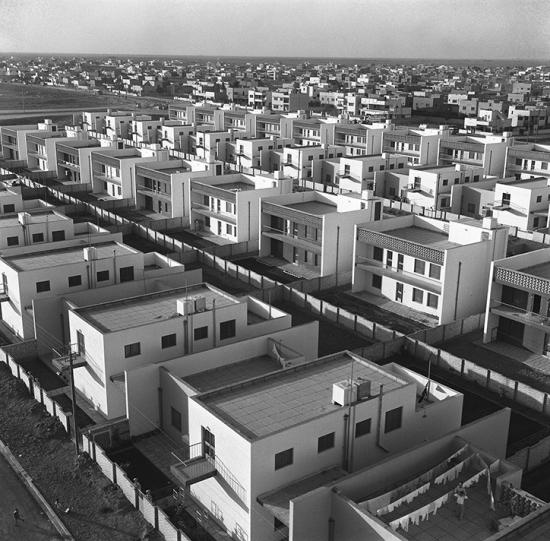 Latifalani-housing project office  yarmouk  baghdad  1962