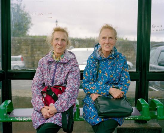 Mcd-twwinsatthe busstop flint northwales 2016