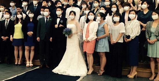 South-korea-mers-wedding