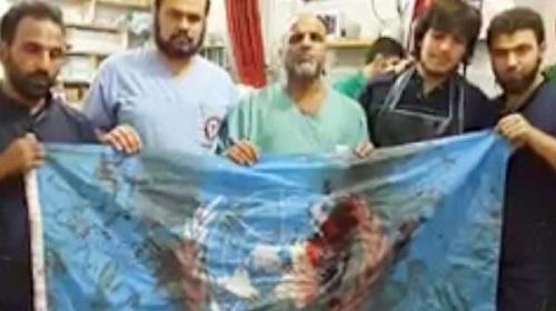 UN-flag-aleppo