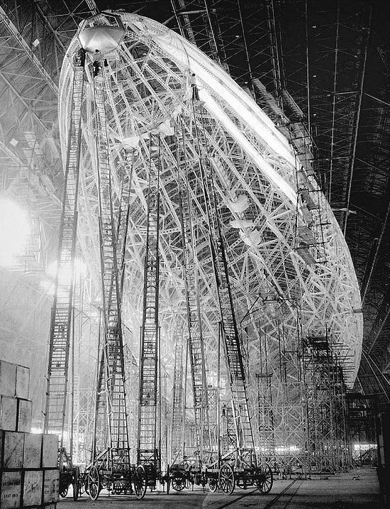 Hindenburg takes shape, 1932