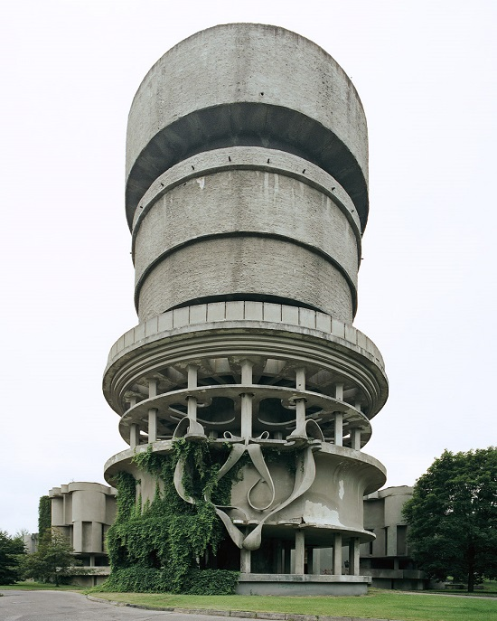 Balneological Hospital Water Tower, Druskininkai, Lithuania, 2004