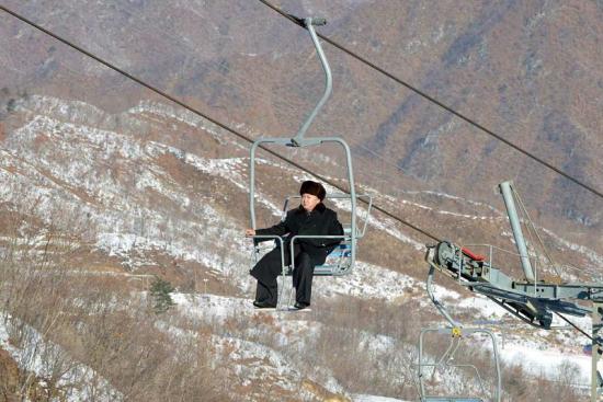 Kim-jong-un skilift