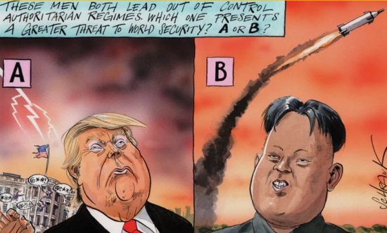 Trump-kim-cartoon