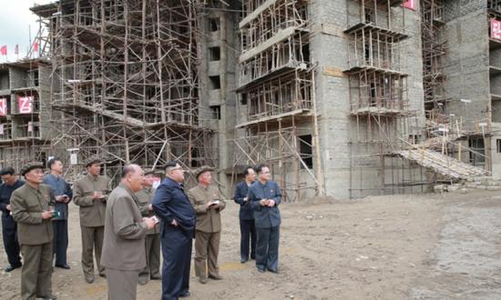 Samjiyon-construction