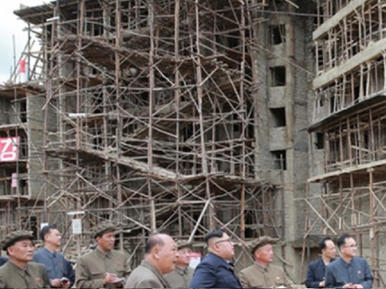 Samjiyon-construction2