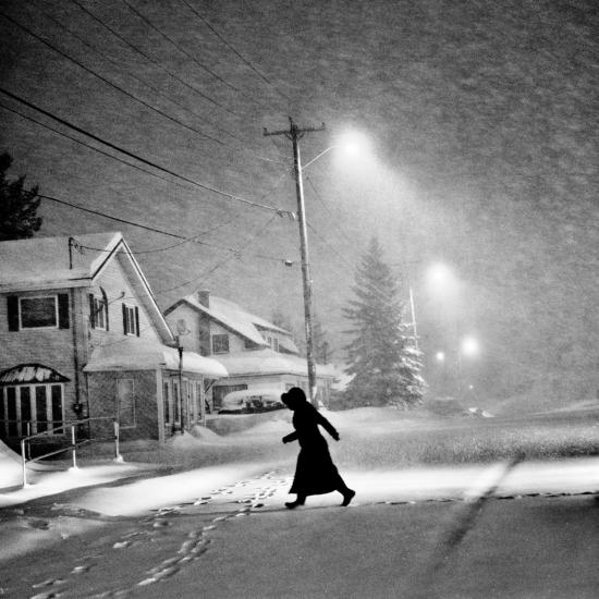 Black-snowstorm