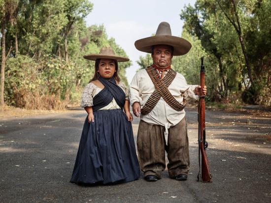 Zapata and Adelita  Mexico City  2019
