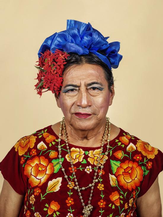 Muxe portrait #1  Juchitán de Zaragoza  2018