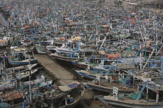 Karachi-harbour